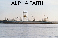 ALPHA FAITH  IMO8323197