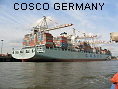 COSCO GERMANY IMO9305477