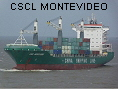 CSCL MONTEVIDEO IMO9385984