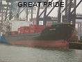 GREAT PRIDE IMO8210900