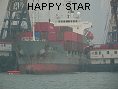 HAPPY STAR IMO9128312
