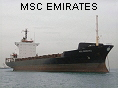 MSC EMIRATES IMO7810533