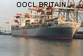 OOCL BRITAIN IMO9102318