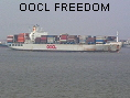 OOCL FREEDOM IMO8400323