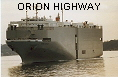 ORION HIGHWAY IMO8401224