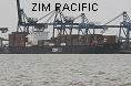 ZIM PACIFIC IMO9113666